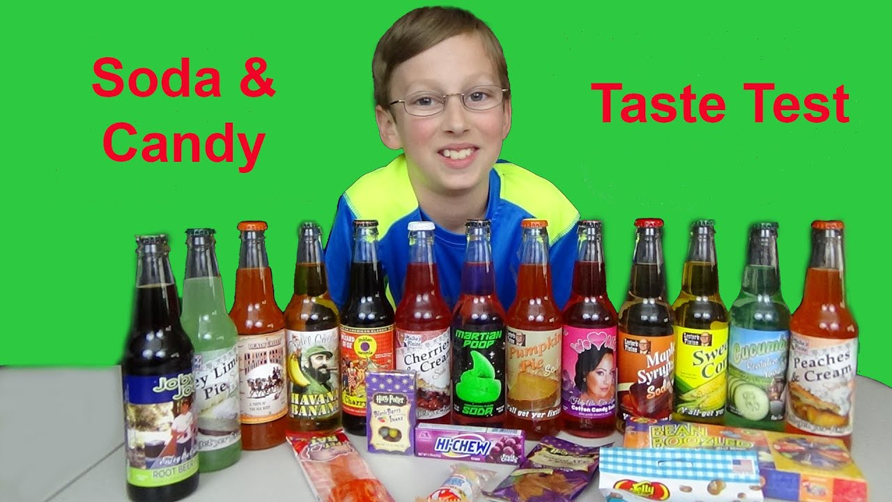 Soda Fizz Candy Soda Taste Test Candy Taste