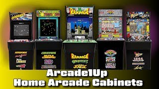 Arcade1Up Home Arcade Cabinets for Sale - #CUPodcast