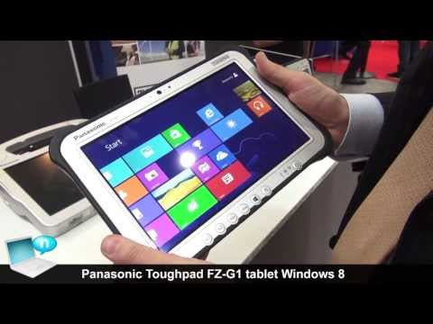 Panasonic Toughpad FZ-G1, tablet full-rugged con Windows 8