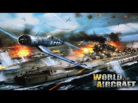 World Of Aircraft - Universal - HD (Tutorial,InGameStore,Uprades,Airplanes) Gameplay Trailer