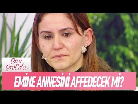 Emine, annesini affedecek mi? - Esra Erol'da 22 Ocak 2018