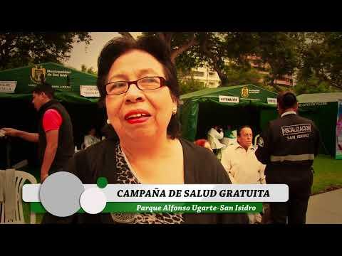 CAMPAÑAS GRATUITAS  DE SALUD EN SAN ISIDRO