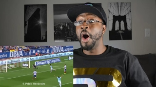 Top 10 Scorpion Kick Goals in Football REACTION || SPORTS REACTIONS