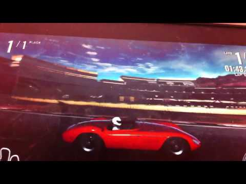 maserati 300 s tunnel run