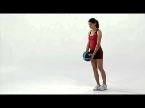 Medicine Ball - SKLZ (Single Leg Romanian Dead Lift) Image 1