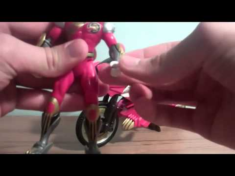 Power Rangers Wild Force   Red Savage Cycle