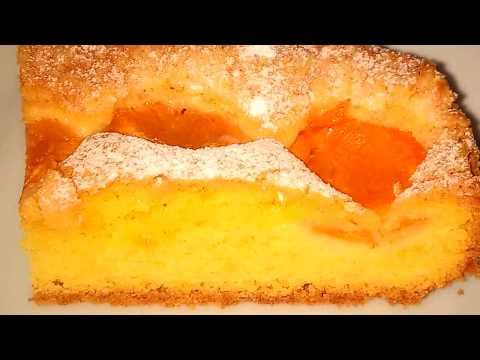 Пирог с абрикосами простой вкусный рецепт. Абрикосовый пирог