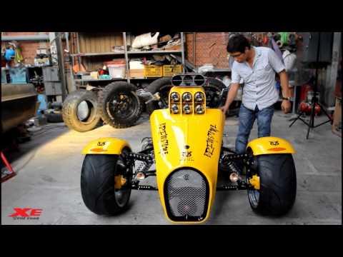 Khung long chua Boss Hoss Trike V8 doc nhat The gioi tai Sai Gon on Xe & The Thao