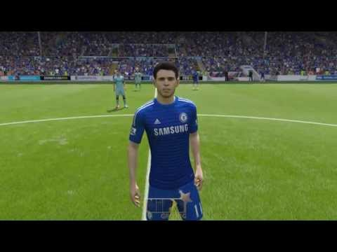 Fifa 15 Demo - Chelsea Player Faces