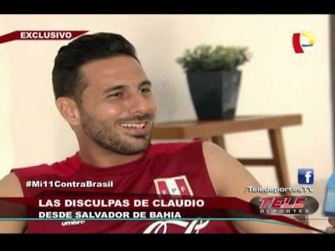 Claudio Pizarro habla sobre incidente protagonizado con periodistas