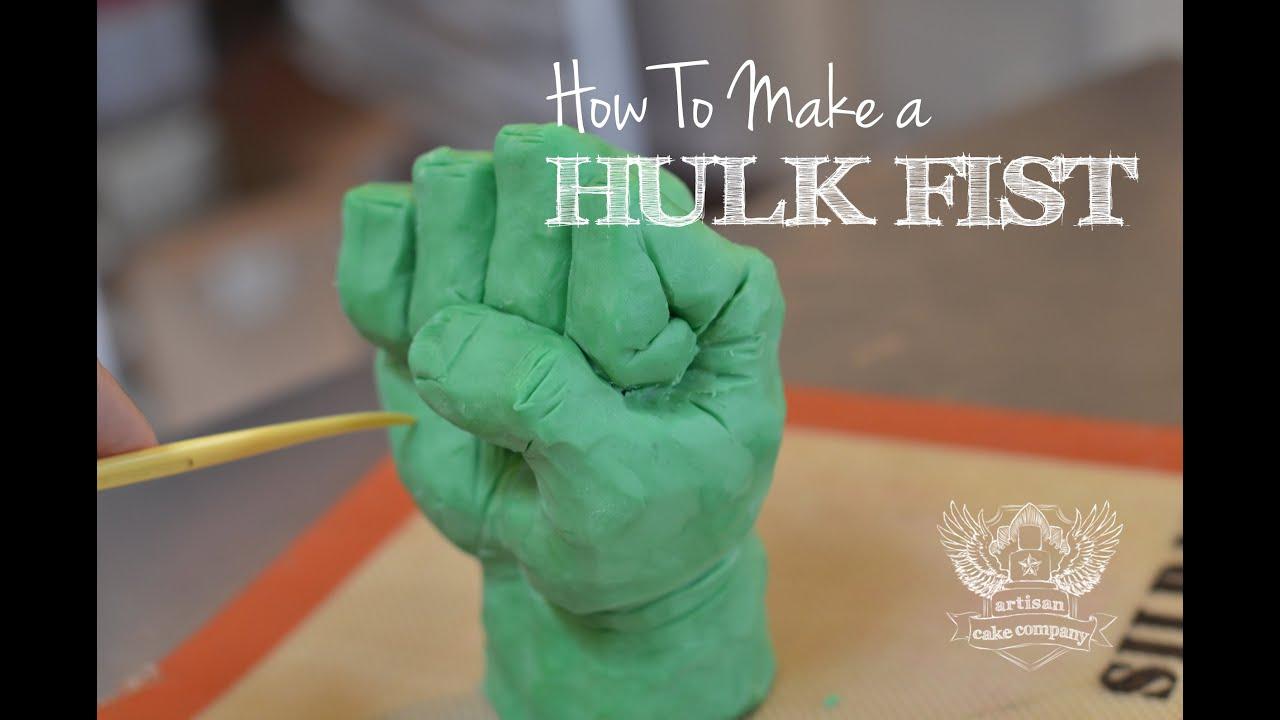 Hulk Cake Topper Tutorial