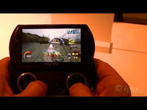PSP GO Real Gameplay (PS3 Graphics)
