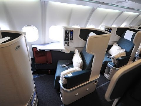 Cathay Pacific NEW Business Class   Review of CX's New Long-haul 777-300ER Business Class