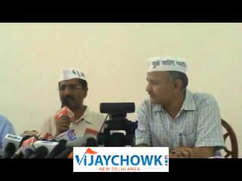 ARVIND KEJRIWAL AAM ADMI PARTY FIRES FRESH SALVO AGAINST KAPIL SIBAL