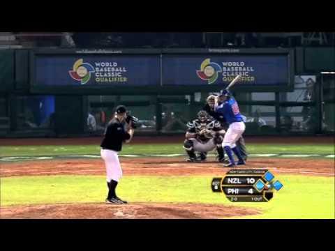 Philippines v New Zealand (6-10) - Baseball Highlights - World Baseball Classic [17/11/2012]