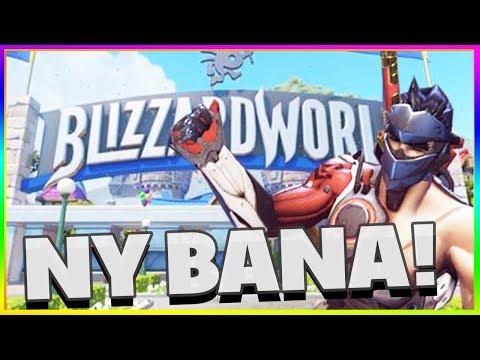NY BANA! Blizzard World - Overwatch På Svenska Med Tejbz