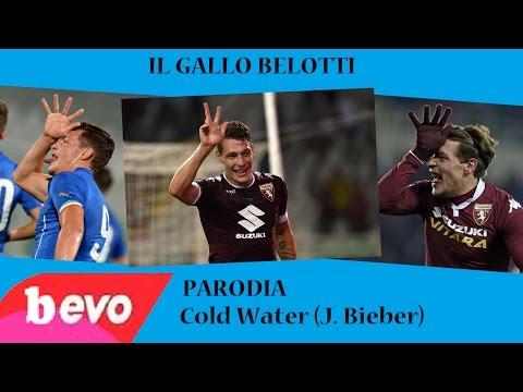 IL GALLO BELOTTI - Parodia Cold Water (J. Bieber)