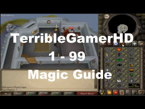 Oldschool RS 1 – 99 Magic Guide Low&High Wealth Methods