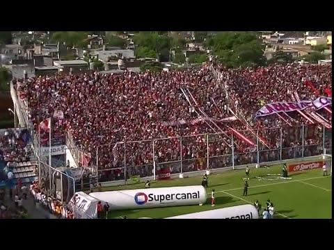 Duelo de hinchadas Atlético Tucumán - San Martín de Tucumán Copa Argentina