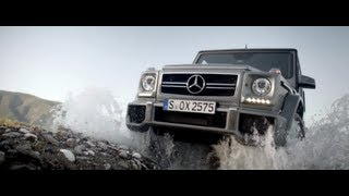 Mercedes G-Klasse 2013 neu - Offroad / Mercedes G-Class driving offroad - Above and beyond new