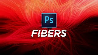 Abstract Twisted Light Fibers Effect Photoshop Tutorial