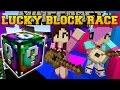 Minecraft: EPIC CONCERT LUCKY BLOCK RACE - Lucky Block Mod - Modded Mini-Game