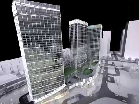 3D Architecture Animation SUZHOU