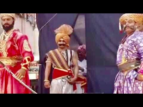 Hindavi Swarajya Chhatrapati Shivaji Maharaj Full Natak With Powada video