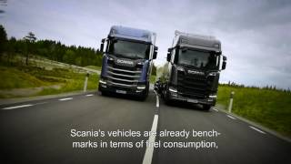 Testing the new Scania in Europe's largest wind tunnel