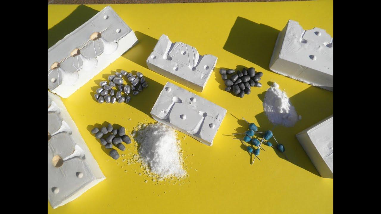 Как сделать форму для отливки из гипса блесны