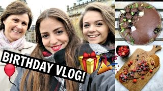 BIRTHDAY VLOG! + What I Ate & Getting Drunk W/ Naturally Stefanie