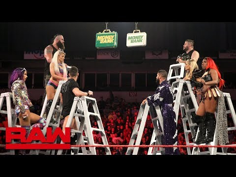 Raw's Money in the Bank Ladder Match competitors sound off: Raw, June 11, 2018 thumbnail
