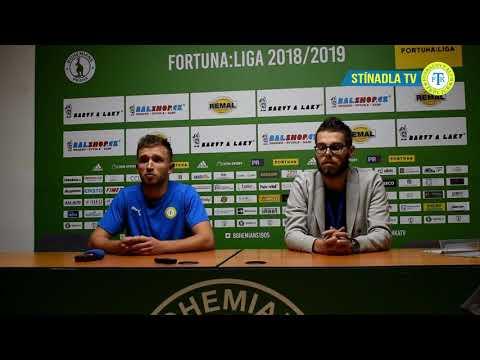 Rozhovor s Danielem Trubačem po zápase na Bohemians (2.11.2018)