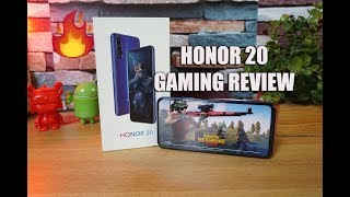 Honor 20 Gaming Review with PUBG- Heating and Battery drain