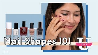How to Shape Nails: Square, Oval, Almond, Stiletto, & Coffin   ipsy U
