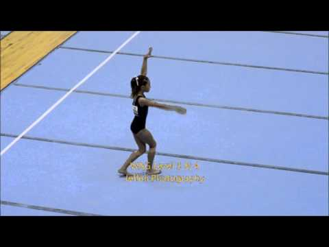 8th National Artistic Gymnastic WAG Level 3 & 4  PT 2  Floor by Jeffini Photography