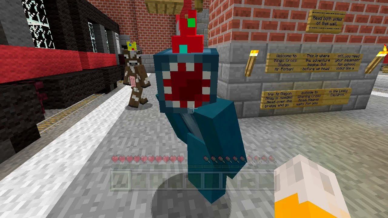 minecraft videos stampy and squid adventure maps with Iballisticsquid Party Hat on Watch additionally Watch as well Watch further Watch moreover The Omega Colony Adventure Map.