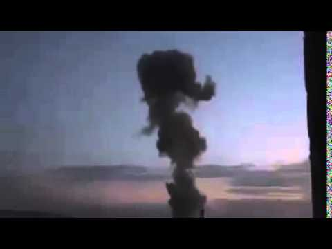 Kobane - Attack by a suicide car bomb