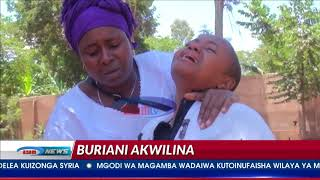 Akwilina Akwiline azikwa kijijini kwao Marangu
