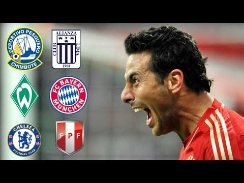 Homenaje a Claudio Pizarro - Bayern Munich - Seleccion Peruana