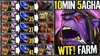 Impossible 5 Aghanim's Buff in 10 min - Alchemist Share Free Gold Dota 2 Gameplay by ACE