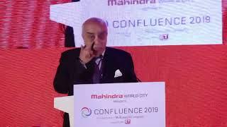 Arun Nanda, Chairman MLDL & Mahindra Holidays & Resorts Ltd. | #MWCConfluence2019 #ThinkingCities