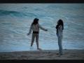 juani lovato en la playa