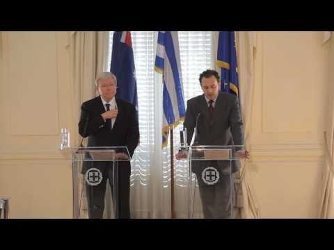 Statements of Greek FM D. Droutsas and Australian FM K. Rudd 02.02.2011