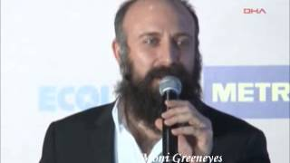 Halit Ergenç @ Awards of turkish series published abroad... Tourism ambassadors
