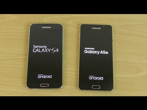 Samsung Galaxy S5 Android 6.0.1 vs Galaxy A5 2016 - Which is Fastest?