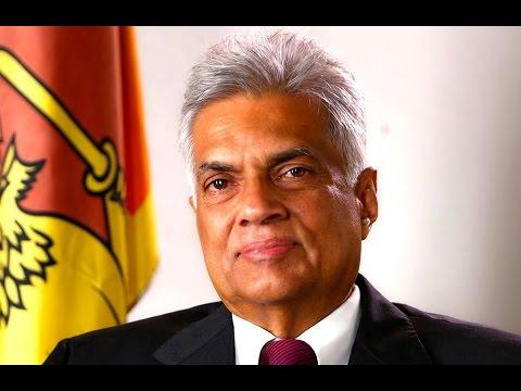 Ranil Wickremesinghe taking oath as Sri Lanka's new Prime Minister - Live Event