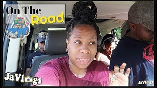 On The Road Headed To Florida | Family Vlogs | JaVlogs