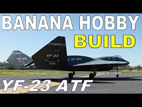 Banana Hobby / LX Models YF-23 ATF BUILD GUIDE Part 2 of 3 in HD By: RCINFORMER