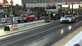 1/4 MILE Street Car DRAG RACING - Street Car Takeover